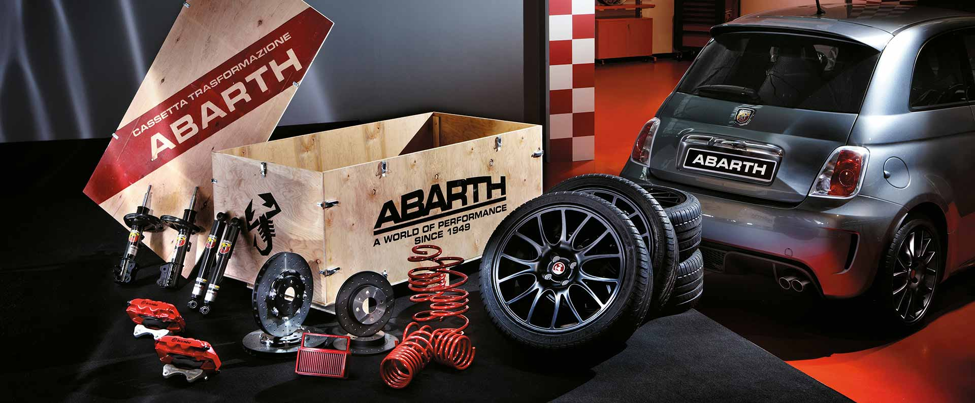 auto tuning kit abarth 595 tuning onderdelen. Black Bedroom Furniture Sets. Home Design Ideas